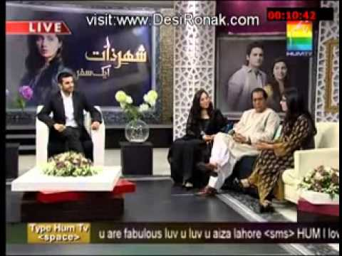 Shehr e Zaat Cast Live (Aik Safar) Full – 9 November 2012